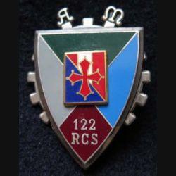 122° RCS : 122° régiment de commandement et de soutien de fabrication FRAISSE G. 2936, en relief