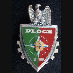 2° RCS BFS IFOR : Insigne métallique du Bataillon Français de soutien de l'IFOR 2° Mandat 2° RCS de fabrication DRAGO