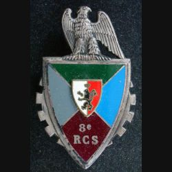 8° RCS : 8° régiment de commandement et de soutien de fabrication FRAISSE G. 2695, en relief