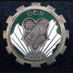 210° CCR : 210° Compagnie de Circulation Routière de fabrication OFSI PARIS (L111)