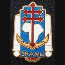 3° RAMa : 3° Régiment d'Artillerie de Marine BOUSSEMART H. 190 prestige doré (L 183)