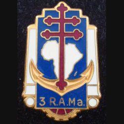 3° RAMa : 3° Régiment d'Artillerie de Marine FRAISSE H. 190