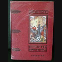 Vieux livres : Histoire d'un homme du peuple par Erckmann-Chatrian (C173)