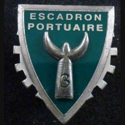 519° RT : Insigne métallique du 3° escadron portuaire du 519° Régiment du train PICHARD BALME