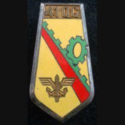 41° QG : 41° Groupe d'Escadron de Quartier Général de fabrication Arthus Bertrand paris G. 1956 en émail (L222)