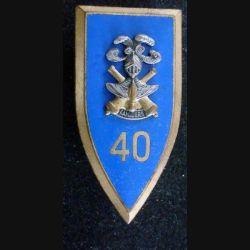 40° CC : 40° Compagnie de Camp DRAGO PARIS G 2301 en émail (L104)