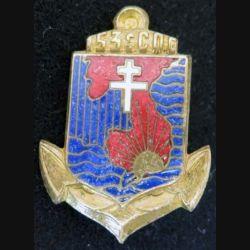153° CQG : 153° Compagnie de Quartier Général en Extyrême Orient DRAGO BERANGER H. 660 en émail (L 105)
