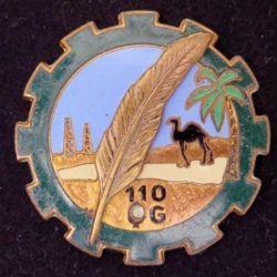 110° CQG : 110° Compagnie de Quartier Général DRAGO PARIS G. 1645 attaches coupées (L 105)