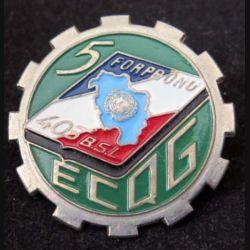 5° ECQG : 5° Escadron de Cdt et de Quartier Général du 403° BSL de la FORPRONU (L227)