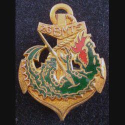26° BMTS : Insigne métallique du 26° Bataillon de Marche de Tirailleurs Sénégalais COURTOIS H. 773 (L178)