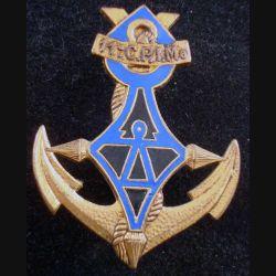 11° CPIMa : Insigne métallique de la 11° Compagnie Portée d'Infanterie de Marine DRAGO G. 1386