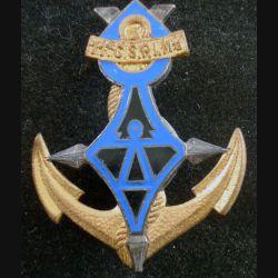 11° CSPIMa : Insigne métallique de la 11° Compagnie Saharienne Portée d'Infanterie de Marine DRAGO G. 1386