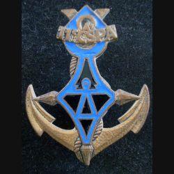 11° CSPA : Insigne métallique de la 11° Compagnie Saharienne Portée Africaine DRAGO G. 1386