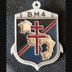 1° DFL BM4 : 4° bataillon de marche de la 1° division française libre Augis Peint (L 208)