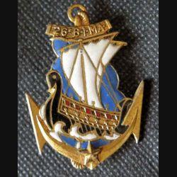 26° BIMA : 26° bataillon d'infanterie de marine Drago G.1740 émail
