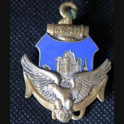 1° RMM : 1° régiment mixte malgache de fabrication Drago en émail et sans attache (L216)