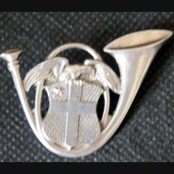 13° BCA : Insigne métallique du 13° bataillon de chasseurs alpins en ARGENT épingle bijoutier
