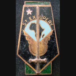 EFORTOM : Ecole de Formation des Officiers Ressortissants T.O.M- 7° Promo Saint Exupéry Drago Paris émail (L 210)