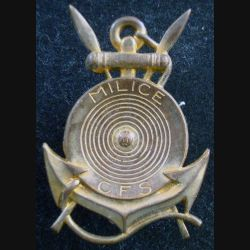 MILICE CFS : Insigne de la Milice des Côtes françaises de Somalie ARTHUS BERTRAND (L216)
