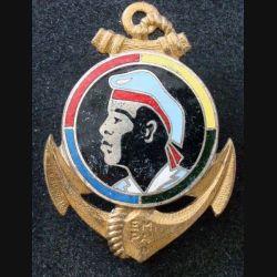 EMPA : Ecole Militaire Préparatoire Africaine Drago Paris G. 1072 émail (L 217)