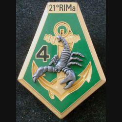 21° RIMa : 4° Compagnie du 21° Régiment d'Infanterie de Marine BOUSSEMART (L 198)