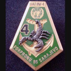 21° RIMa : 4° Compagnie du 21° Régiment d'Infanterie de Marine FORPRONU 95 DELSART (L 198)