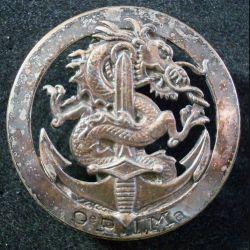 9° RIMA : Insigne de béret du 9° Régiment d'Infanterie de Marine Drago Paris (L 205)