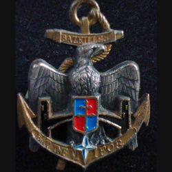 3° RIMA : Insigne métallique du BAT INF 6 de l'IFOR du 3° Régiment d'Infanterie de Marine en Bosnie (L203)