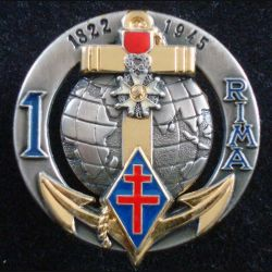 1° RIMA : 1° Régiment d'Infanterie de Marine de fabrication Arthus Bertrand G. 4663 (L 196)
