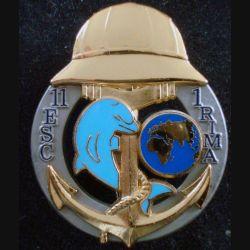 1° RIMA : 11° Escadron du 1° Régiment d'Infanterie de Marine de fabrication Balme