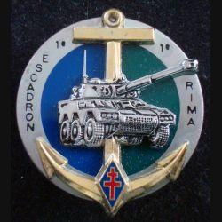 1° RIMA : 1° Escadron ERC 90 Sagaie du 1° Régiment d'Infanterie de Marine de fabrication Balme (L 196)