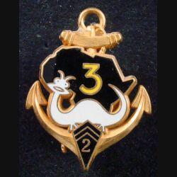 2° RIMA : 3° Cie du 2° Régiment d'Infanterie de Marine de fabrication Fraisse