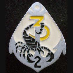 2° RIMA : 3° Cie du 2° Régiment d'Infanterie de Marine de fabrication Beraudy peint (L 200)