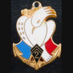 2° RIMA : 2° Régiment d'Infanterie de Marine Nouvelle-Calédonie 85 de fabrication Fraisse (L 200)