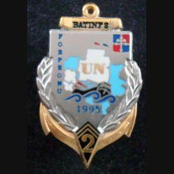 2° RIMA : BAT INF N° 2 FORPRONU SARAJEVO du 2° Régiment d'Infanterie de Marine Balme (L 201)