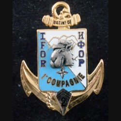 2° RIMA : 1° Cie BATINF 6 IFOR du 2° Régiment d'Infanterie de Marine de fabrication Segalen (L 200)