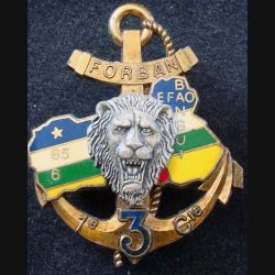 3° RIMA : 1° Cie du 3° Régiment d'Infanterie de Marine EFAO BANGUI FORBAN Delsart (L202)