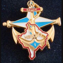 1° RAMA : 1° Régiment d'Artillerie de Marine BAMAK KFOR Delsart (L184)