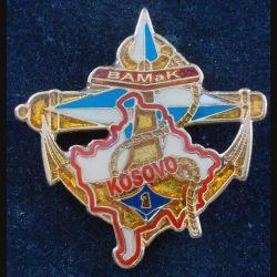 1° RAMA : 1° Régiment d'Artillerie de Marine BAMAK KFOR translucide verni (L184)