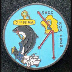 21° RIMA : 2° compagnie du 21° Régiment d'Infanterie de Marine Beyrouth peint (L 197)