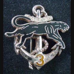 21° RIMa : 3° Cie du 21° Régiment d'Infanterie de Marine BOUSSEMART Prestige lettres argentées (L 198)