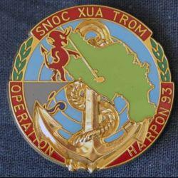21° RIMa : 2° Compagnie du 21° Régiment d'Infanterie de Marine HARPON 93 Balme (L 197)