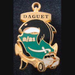 21° RIMa : 2° Compagnie du 21° Régiment d'Infanterie de Marine DAGUET Fraisse (L 197)