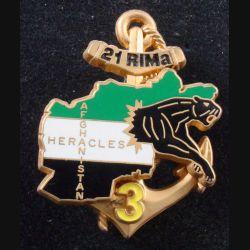 21° RIMa : 3° Compagnie du 21° Régiment d'Infanterie de Marine Héracles Afghanistan Boussemart (L 198)