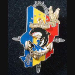 21° RIMa : Insigne métallique du 21° Régiment d'Infanterie de Marine Epervier Tchad A. Bertrand (L 199)