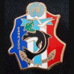21° RIMa : Insigne métallique Transmission BAT INF N° 4 21° Régiment d'Infanterie de Marine Boussemart (L 199)