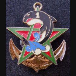 21° RIMa : 1° Compagnie du FRENCH BAT 21° Régiment d'Infanterie de Marine Delsart (L 197)