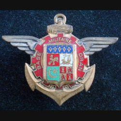 BM ORAN : Base Militaire d'Oran Drago Paris H. 704 émail (L211)