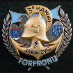 21° RIMa : Transissions du BATINF 4 FORPRONU Sarajevo 3° mandat Drago