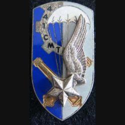 441° CMT : 441° compagnie matériel du territoire Drago G. 2414 émail